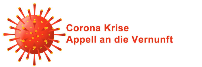 Coronakrise - Appell an die Vernunft. Grafik: bigstock, designua