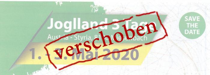 Joglland Orientierung 2020 - verschoben