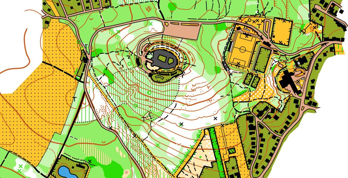 Ausschnitt Karte Kreuzenstein, Nico Kastner