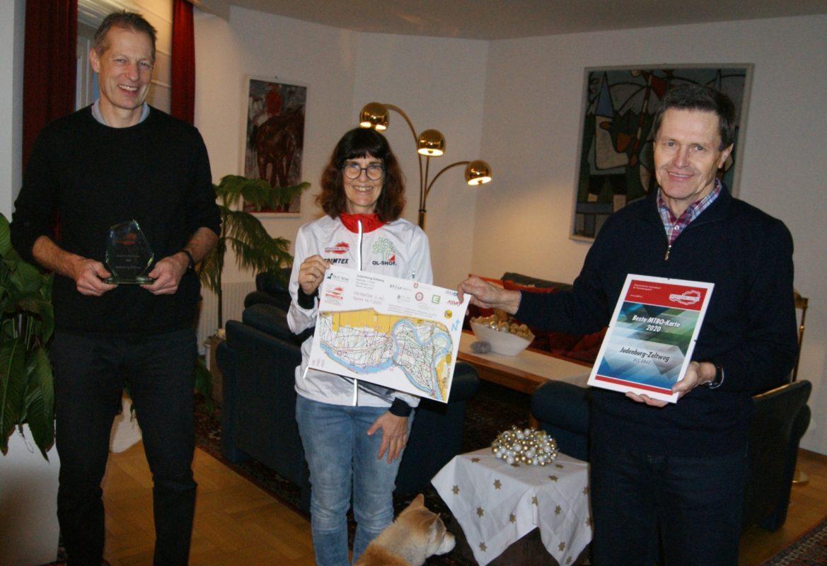 Beste MTBO Karte 2020 - OLC Graz