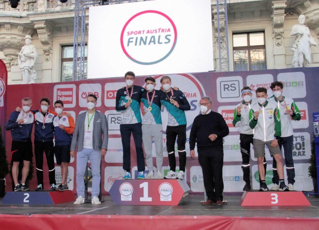 Sport Austria Finals Siegerehrung