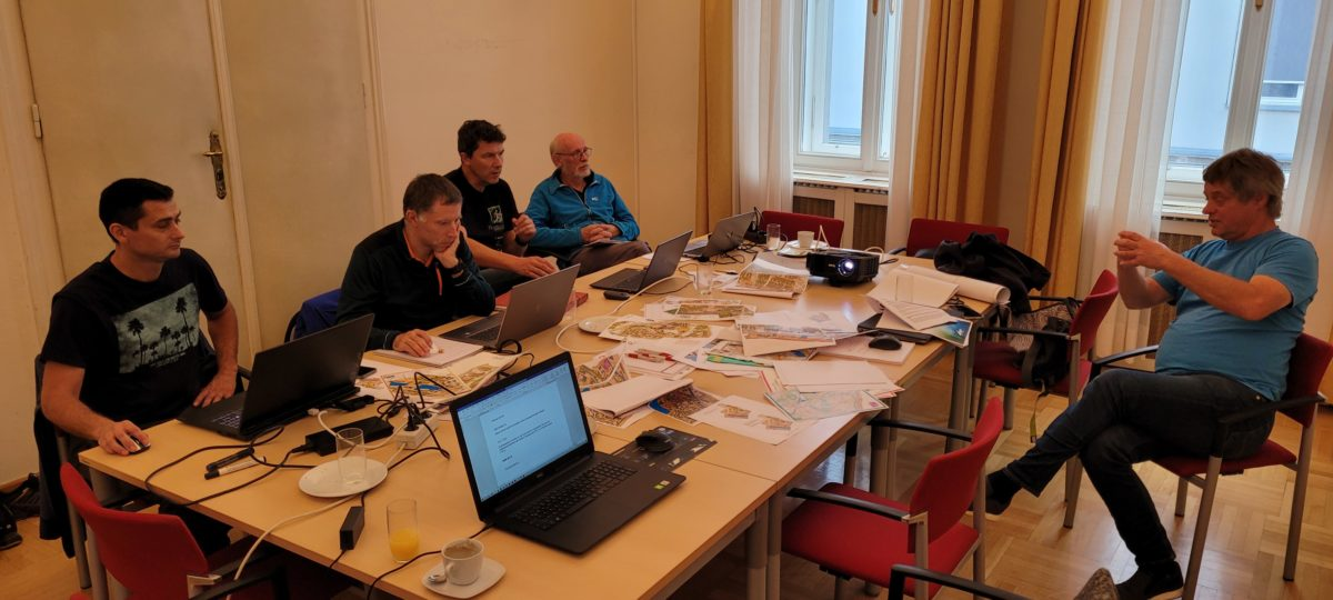 Map Commission Meeting in Wien 2021